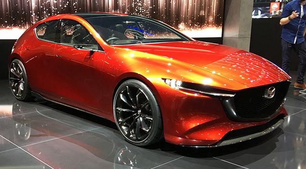 На фото: концепт Mazda Kai