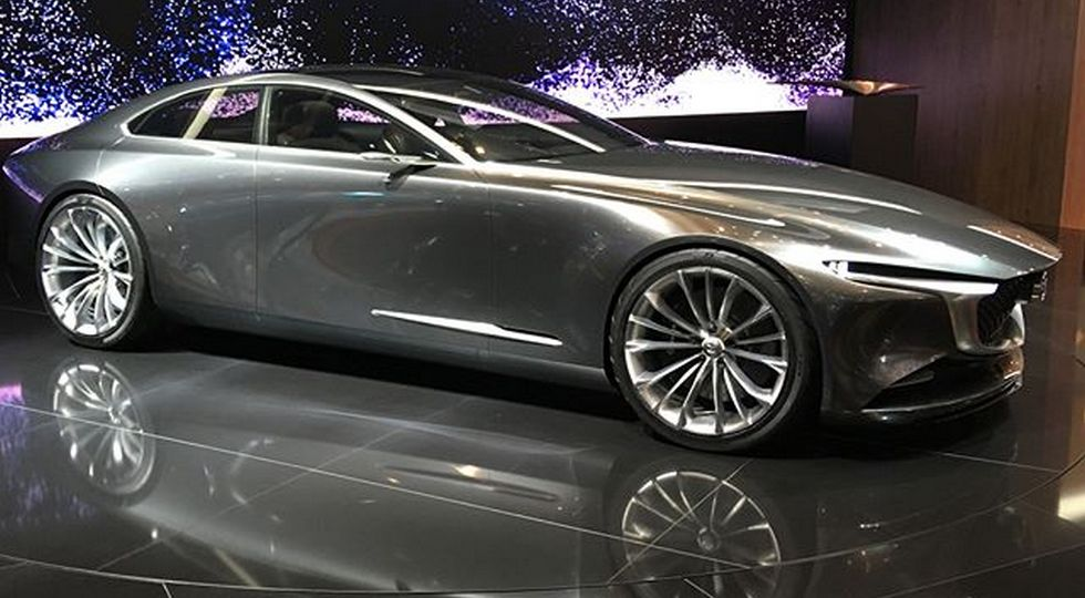 На фото: концепт Mazda Vision Coupe
