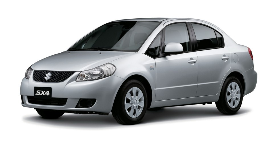 На фото: Suzuki SX4 Sedan '2007–н.в.