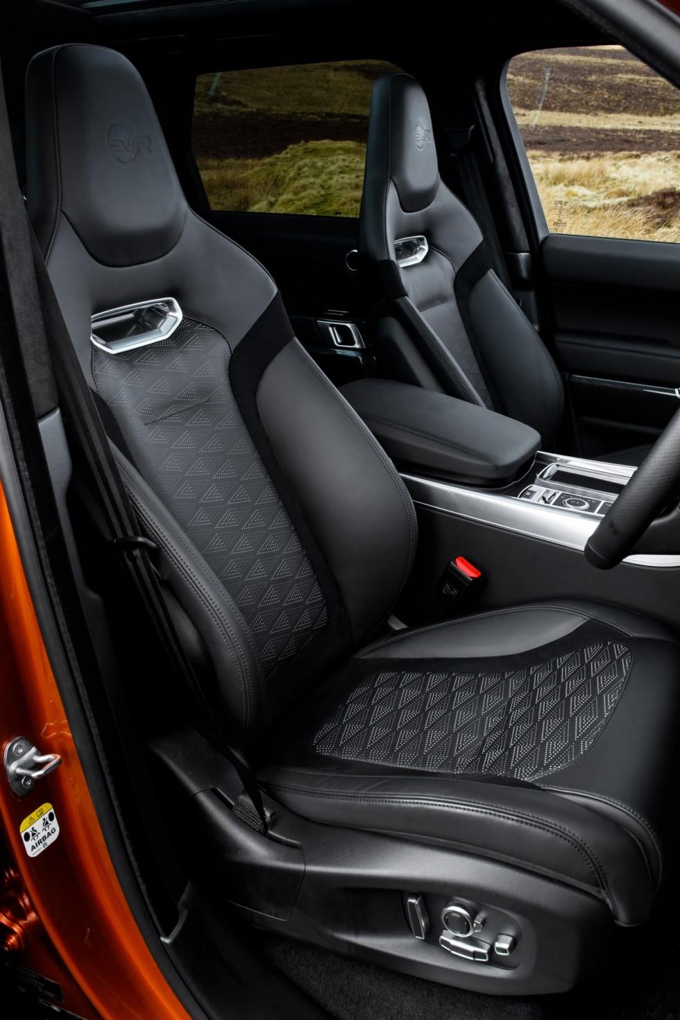 Range Rover Sport SVR Media Drive, March 2018