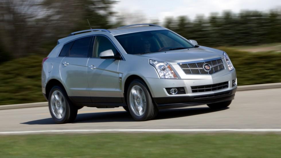 На фото: Cadillac SRX '2009–12