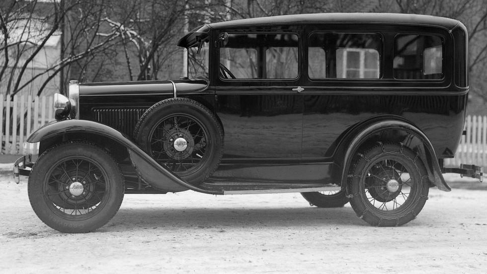 На фото: Ford Model A '1930–31