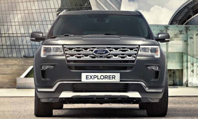Вседорожный автомобиль Форд Explorer для Российской Федерации обновился истал дешевле