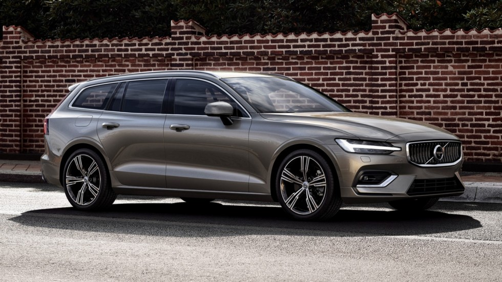 На фото: Volvo V60 T6 Inscription '2018