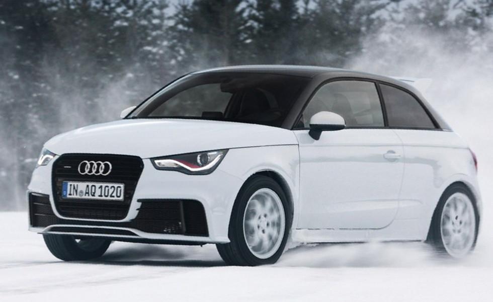 Audi A1 quattro текущего поколения