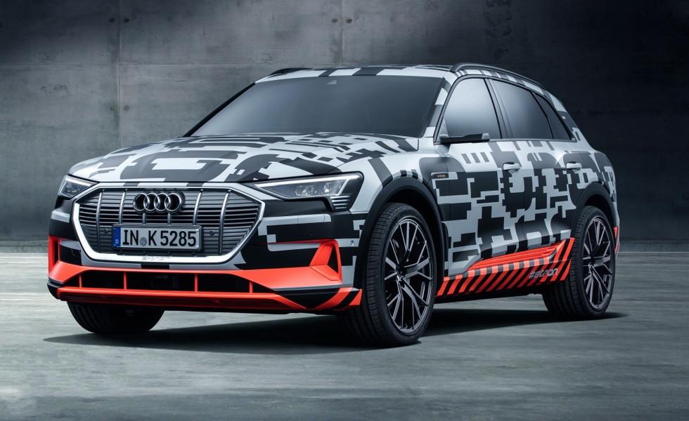 Стали известны европейские цены на новый Audi e-tron