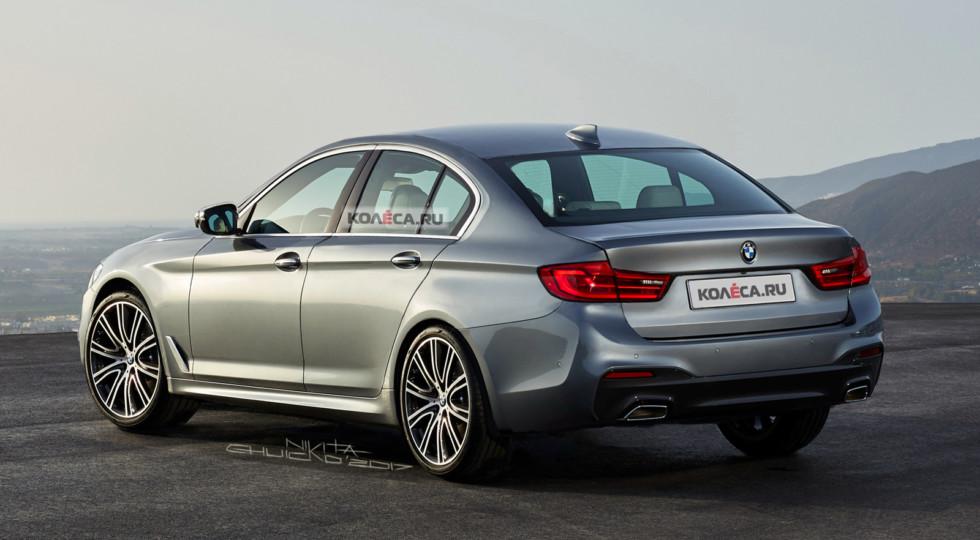 Рендерное изображение BMW 3 Series G20