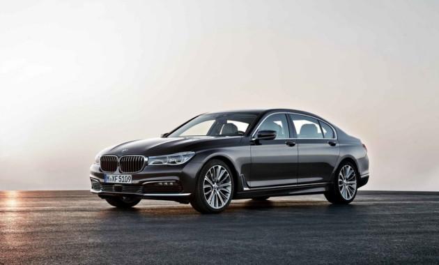 BMW остановит производство бензиновых версий 7 Series на один год