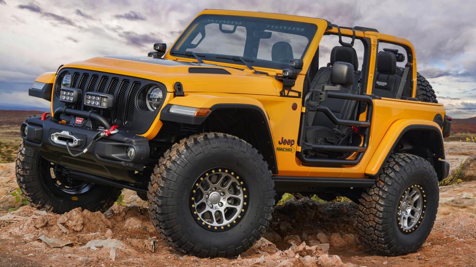 Jeep и Mopar построили семь концептов для очередного сафари