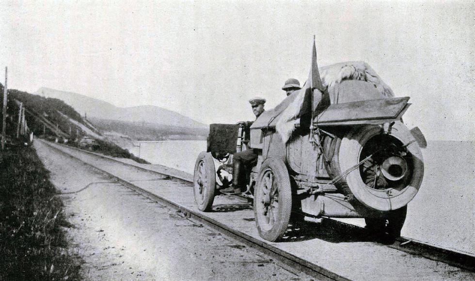 Drivingontherailroad