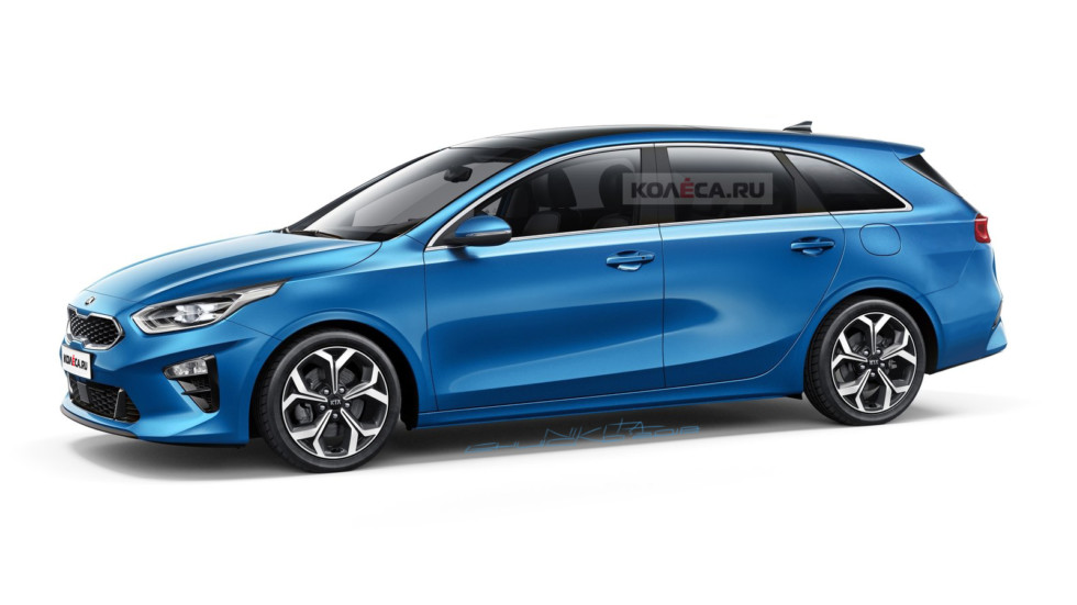 Kia Ceed Sportwagon front1