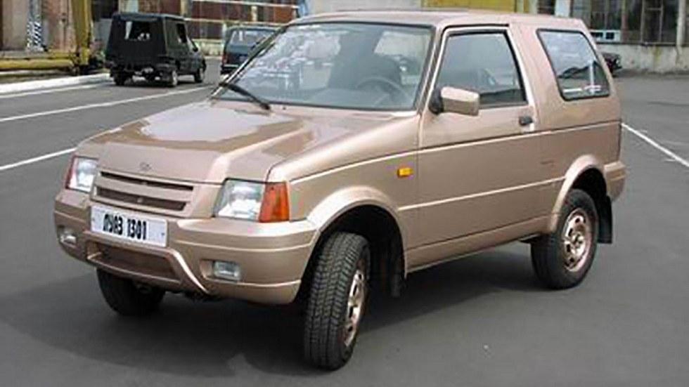 Последняя предсерийная версия ЛуАЗ-1301 выглядела так