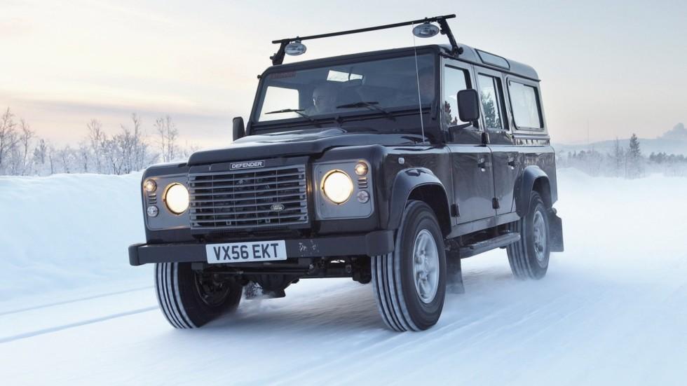 На фото: Land Rover Defender '2007–н.в.