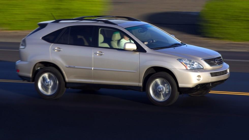На фото: Lexus RX 400h '2005–09
