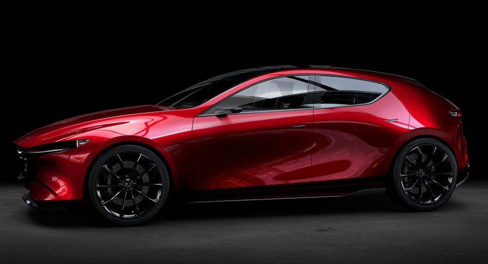 Концепт Mazda Kai 2017