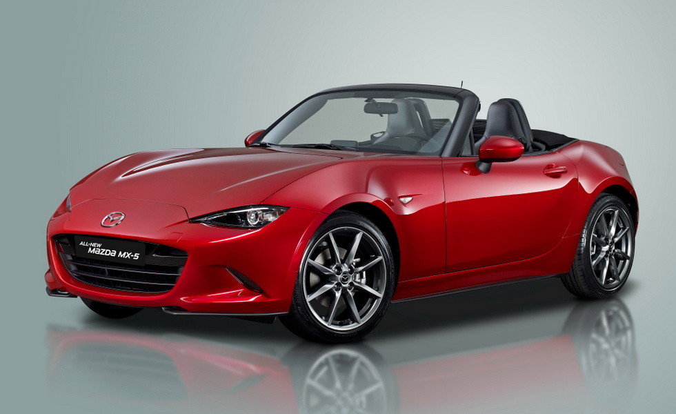 Новому родстеру Mazda MX-5 обещают более мощный мотор