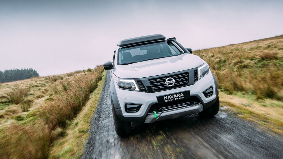 Концепт Nissan Navara EnGuard 2016