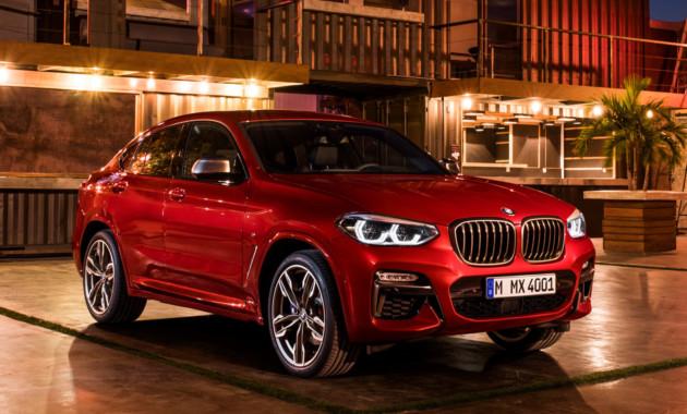 Новый BMW X4: названы российские цены