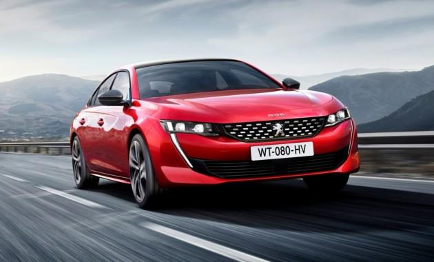 Peugeot 508 нового поколения обзавелся спецверсией