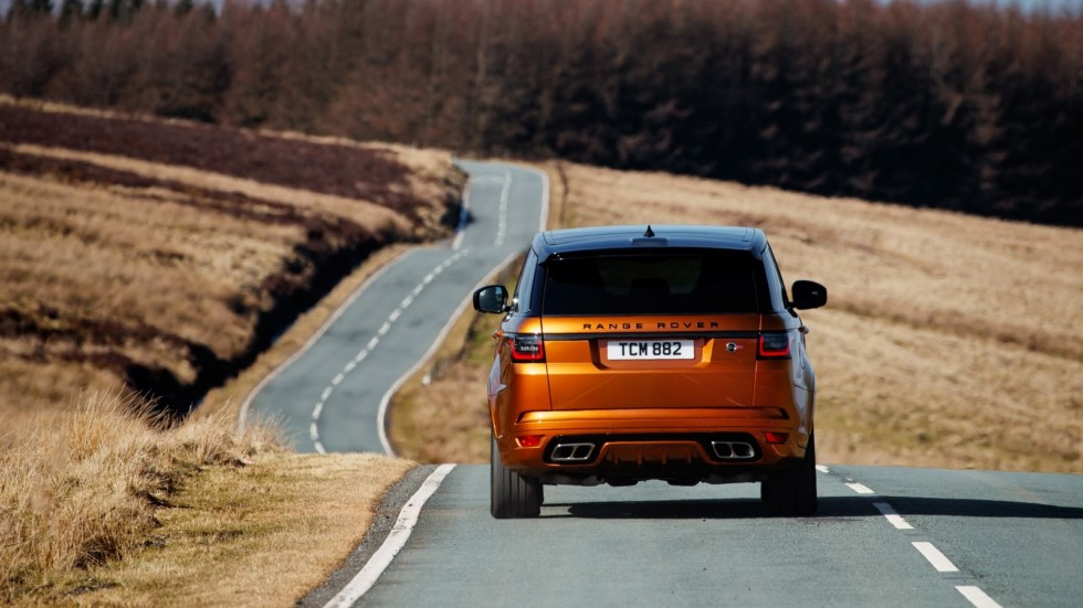 Range Rover Sport SVR Media Drive, March 2018