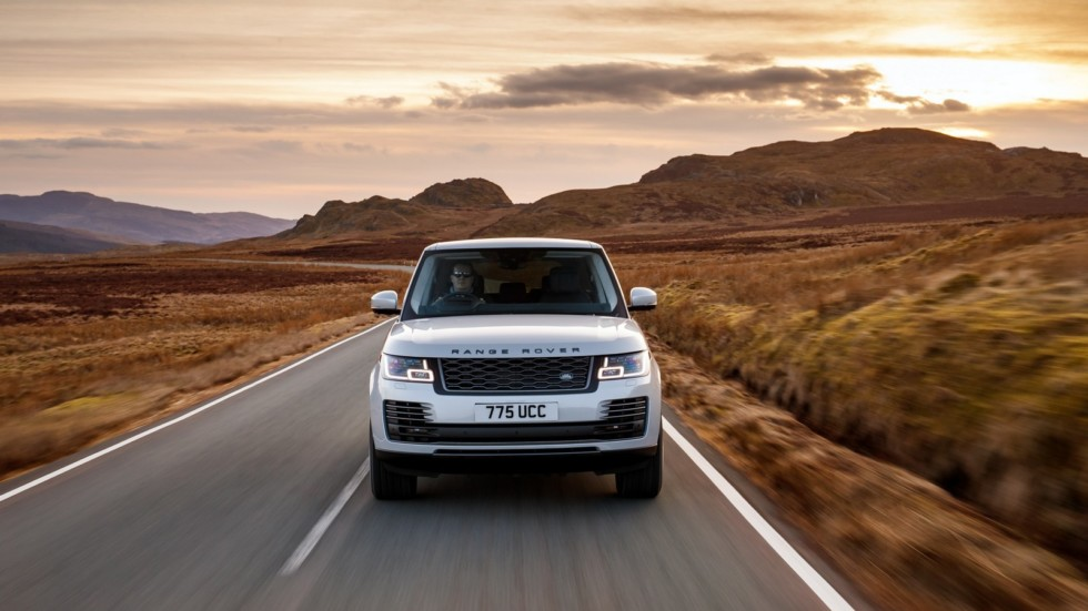 Range Rover PHEV Media Drive, March 2018