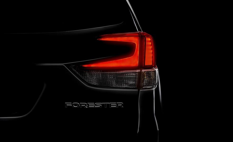 Первое официальное изображение нового Subaru Forester