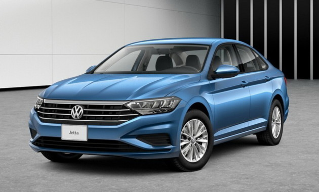 В реализацию запустили новый тип седана VW Jetta