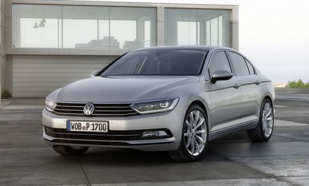 Volkswagen Passat получит фейслифтинг в этом году