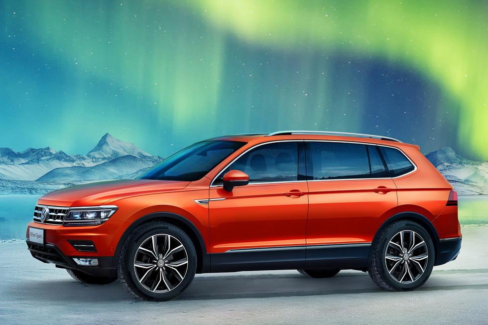 Volkswagen Tiguan L для Китая