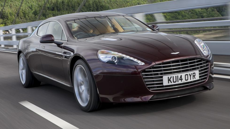 На фото: Aston Martin Rapide