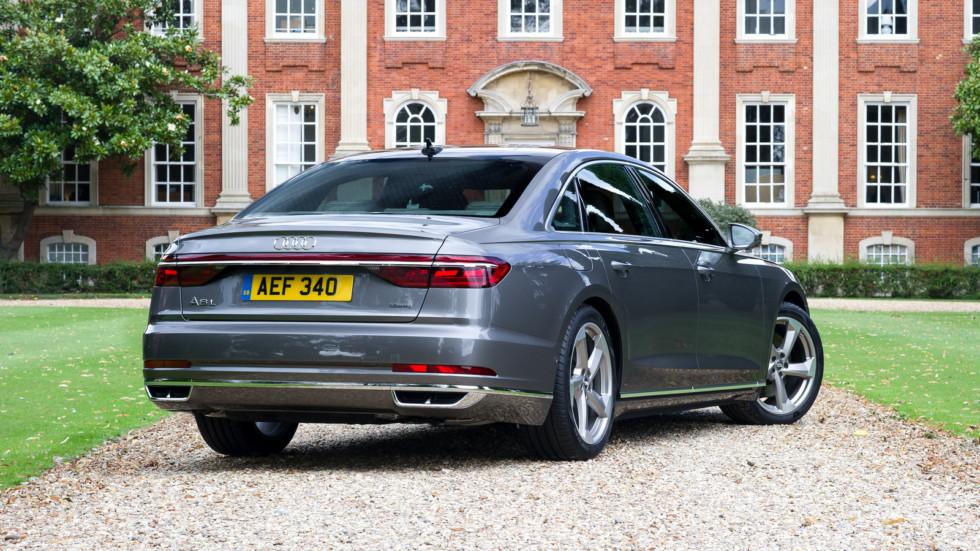 Audi A8 последнего поколения (D5)