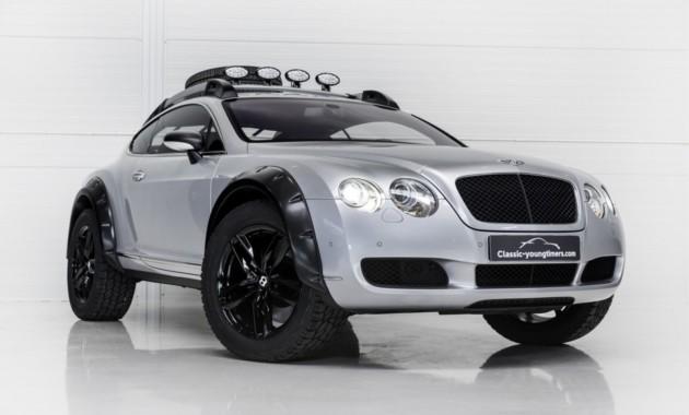 На продажу выставлен внедорожный Bentley Continental GT