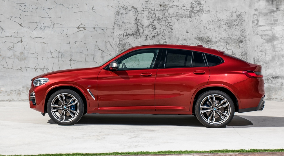 На фото: BMW X4