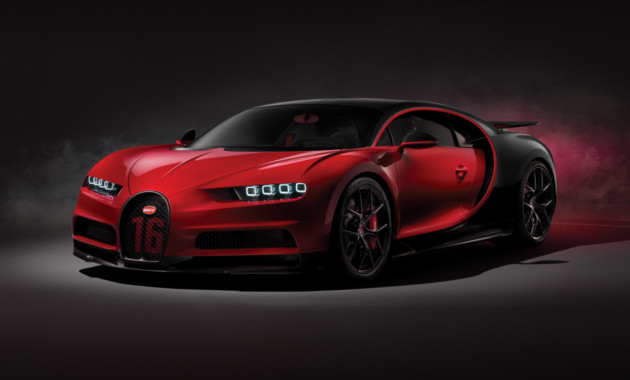 Bugatti Chiron стал «спортивнее»