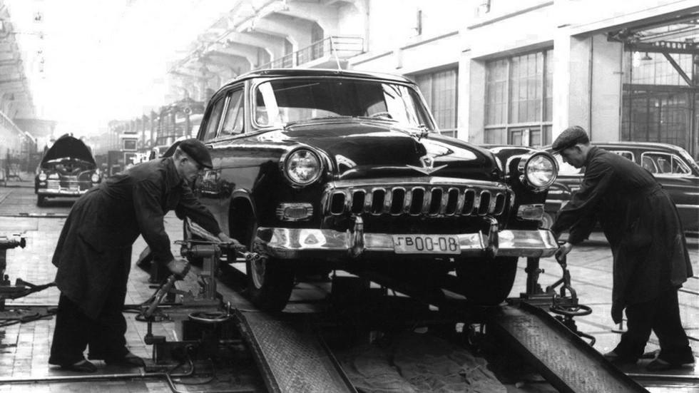 Прототип №1 собрали в первом квартале 1954 года