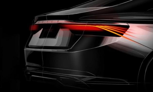 Новые изображения спортивной версии Geely Emgrand GT