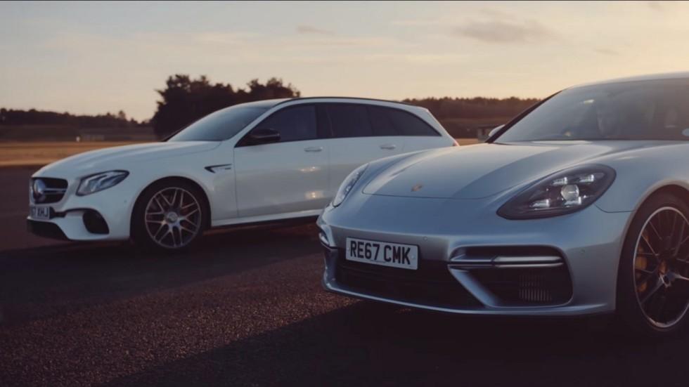 Битва «сараев»: Mercedes-AMG E 63 S vs Porsche Panamera Turbo Sport Turismo