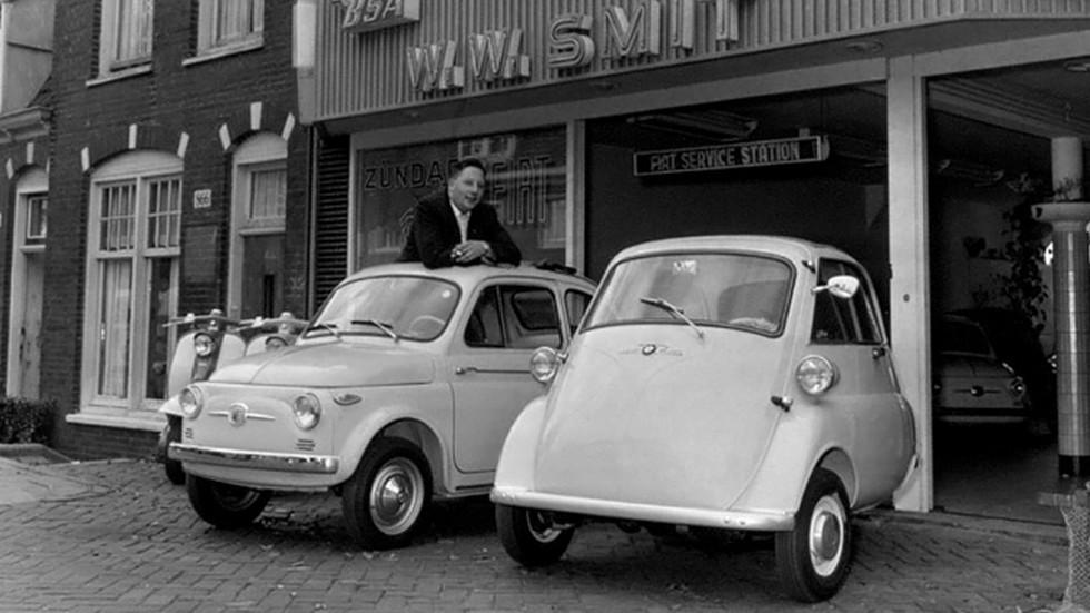 Isetta напоминала маленький Fiat, но при этом оставалась «недомашиной»