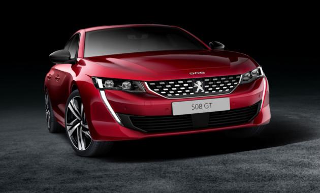 Новый тип Пежо 508 получит «заряженную» версию GTi