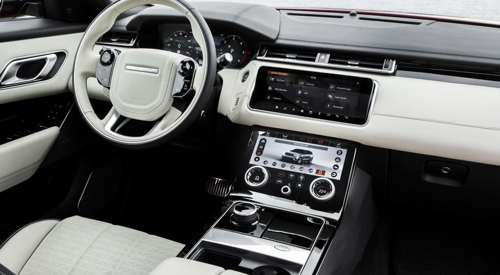 На фото: Range Rover Velar R-Dynamic D300 HSE