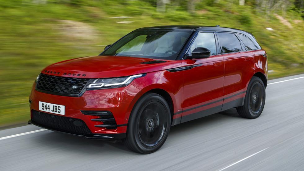На фото: Range Rover Velar