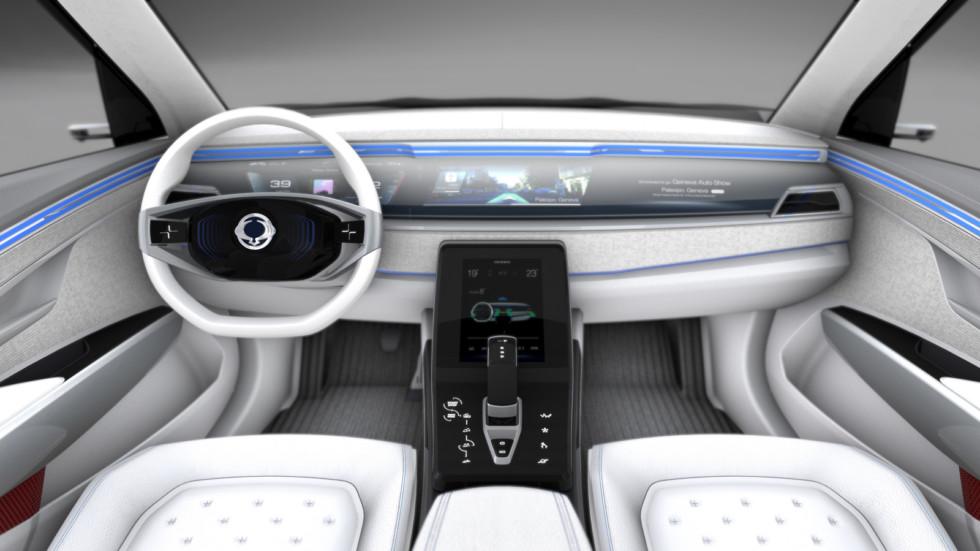 Сан Ёнг представил вЖеневе концептуальный автомобиль электрокроссовера e-SIV