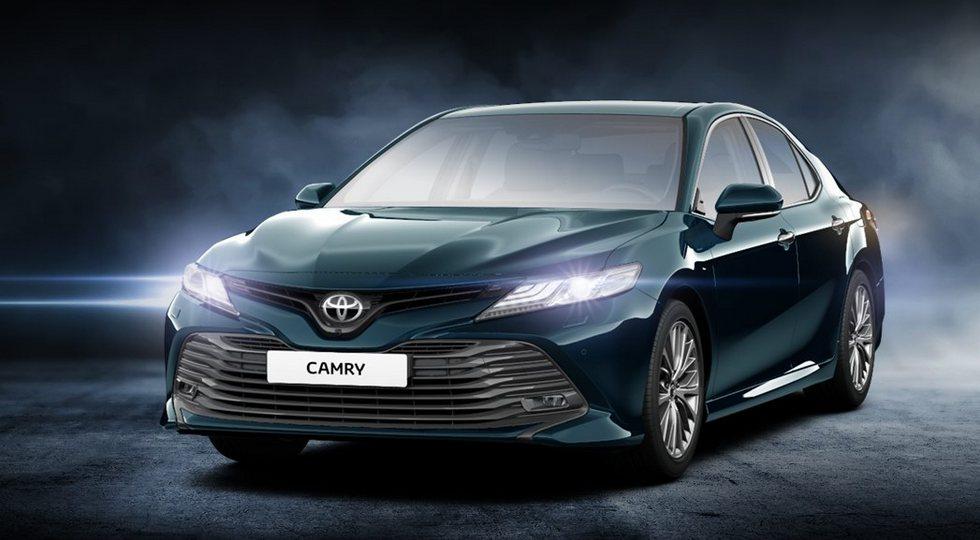 Российская версия Toyota Camry нового поколения. Дизайн теперь един для всех рынков