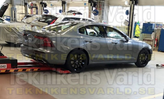 Внешность нового седана Volvo S60 рассекречена