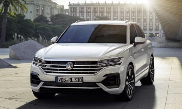 Новый Volkswagen Touareg представлен официально. Скоро в России