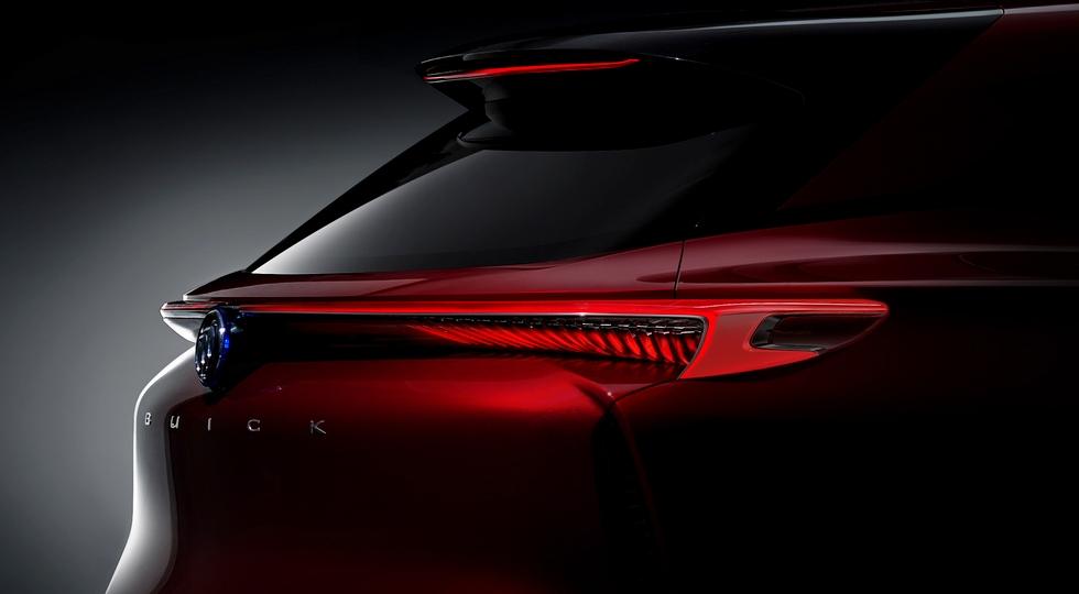 Buick тизером анонсировала новый электрический кроссовер