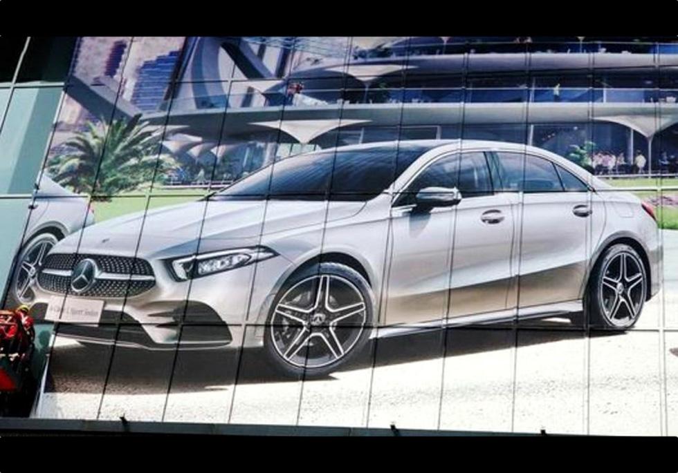 Допремьеры рассекретили новый седан Мерседес-Бенс A-Class