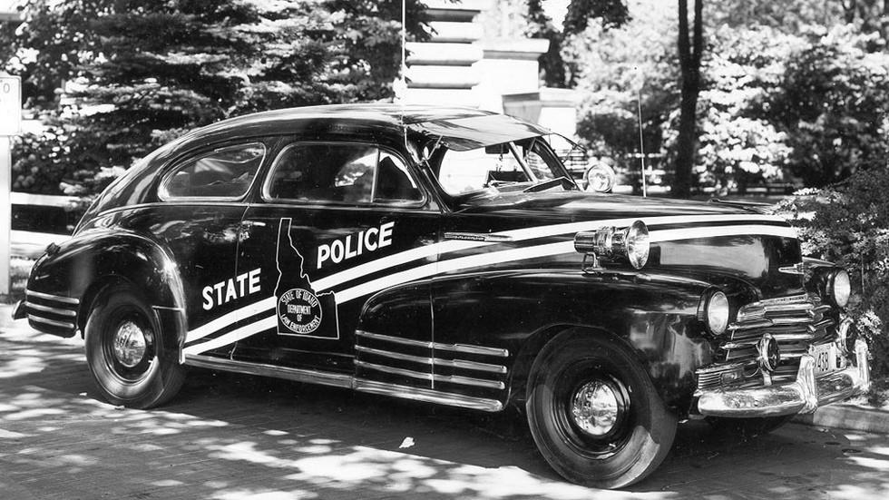 1947 chevrolet fleetline aerosedan полиция
