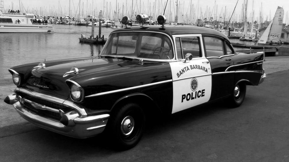 1957_chevrolet 210 полицейский седан