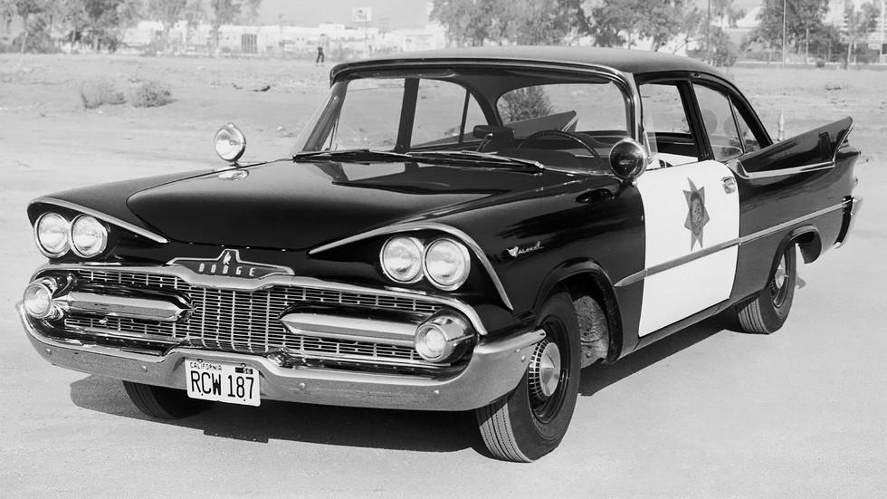 1959 dodge coronet полиция